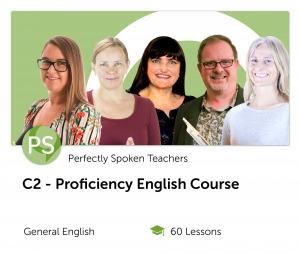 C2 English Proficiency Online Course with expert teachers