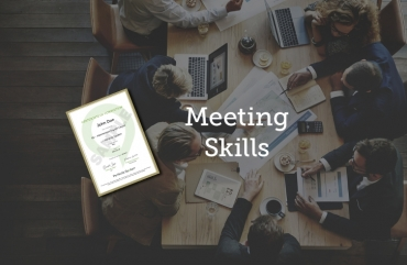 .Meeting Skills: English For Meetings