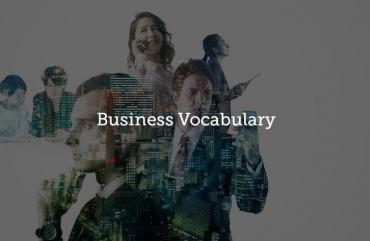.Business Vocabulary