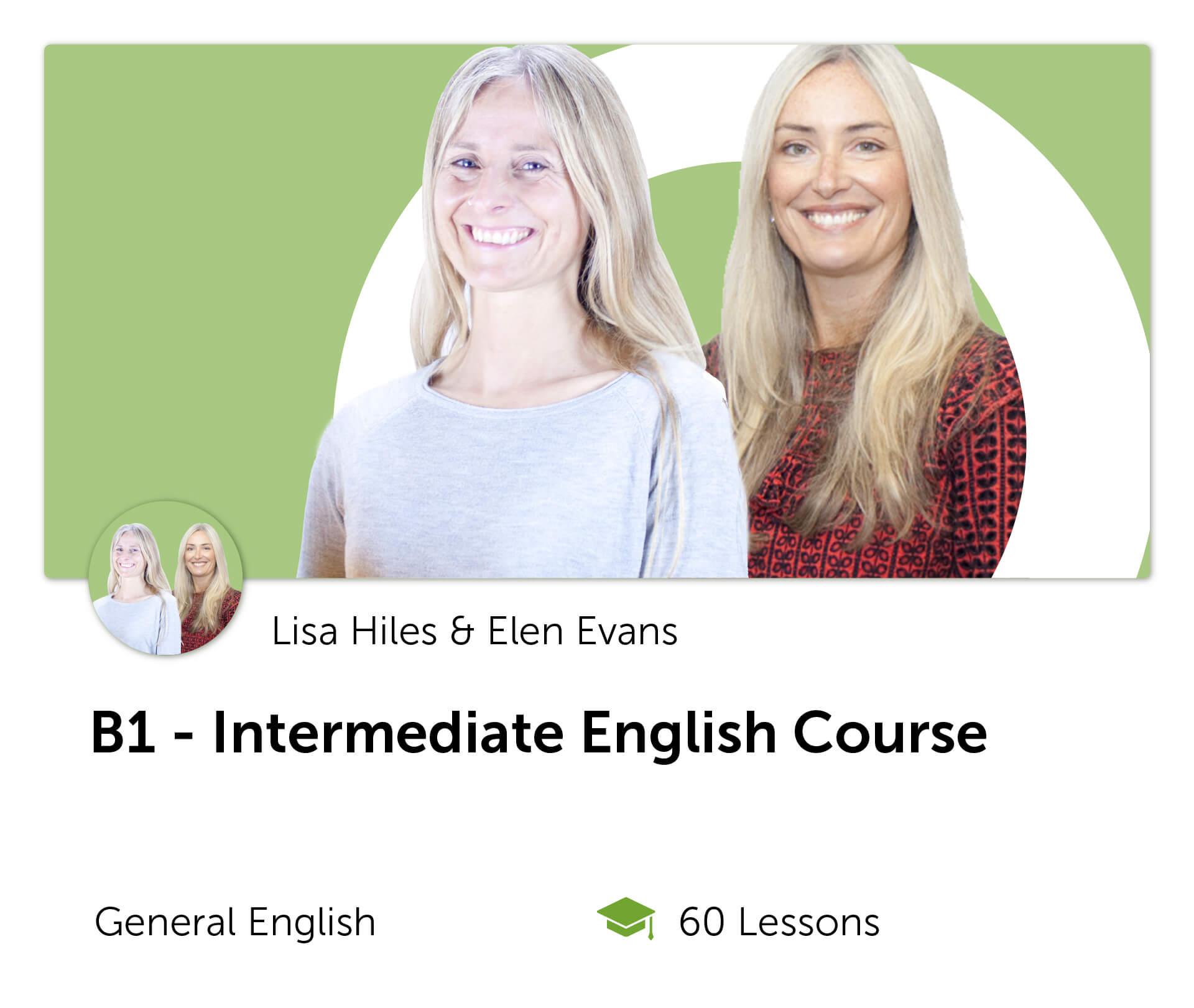 B1 Intermediate English Course