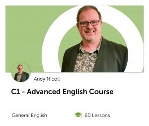 C1 Advanced English Course Online